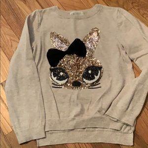Girls HM bunny sweater size 4-6